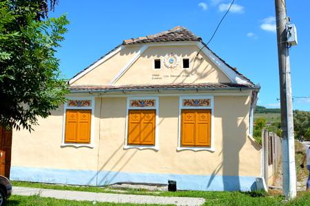 transylvania: Old house in the village Crit, Transylvania