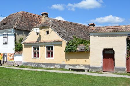 transylvania: Old houses in the village Crit, Transylvania Stock Photo