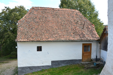transylvania: Typical house in the village Viscri, Transylvania