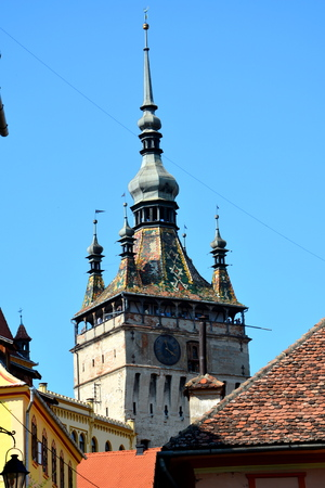 Tower of the city Sighisoara