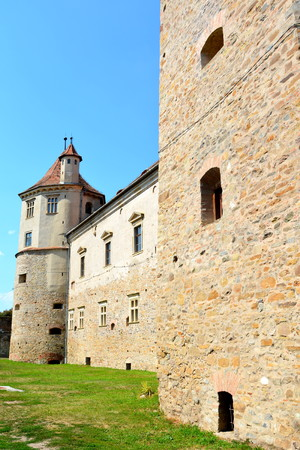 precisely: Fortress Fagaras, Construction of the fortress began in 1310, over an old fortification of earth and wood dating from the twelfth century. The purpose of building the city was essentially strategic, more precisely in defense of southern Transylvania incur Editorial