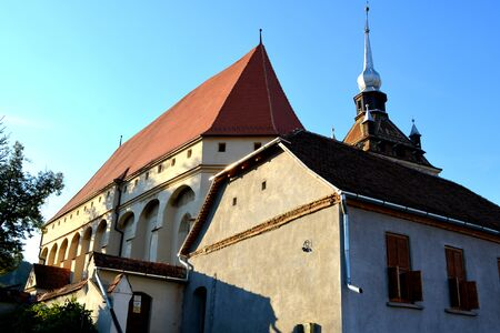 Saschiz fortified church is a fortified church in Keisd, in the Transylvania region of Romania. It was built by the ethnic German Transylvanian Saxon community. Together with the surrounding village, the church forms part of the villages with fortified ch