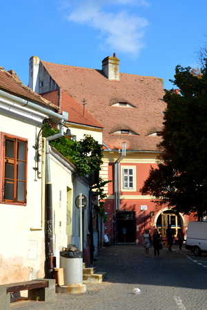 designated: Typical urban lanscape. Sibiu is one of the most important cultural centres of Romania and was designated the European Capital of Culture for the year 2007, along with the city of Luxembourg. Editorial