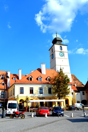 Market Square. Sibiu is one of the most important cultural centres of Romania and was designated the European Capital of Culture for the year 2007, along with the city of Luxembourg.
