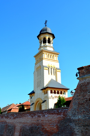 mentioned: Orthodox vchurch inside the Medieval fortress Alba Iulia, Transylvania. The modern city is located near the site of the important Dacian political, economic and social centre of Apulon, which was mentioned by the ancient Greek geographer Ptolemy. Alba Iul
