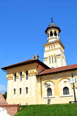 mentioned: Orthodox church inside the Medieval fortress Alba Iulia, Transylvania. The modern city is located near the site of the important Dacian political, economic and social centre of Apulon, which was mentioned by the ancient Greek geographer Ptolemy. Alba Iuli