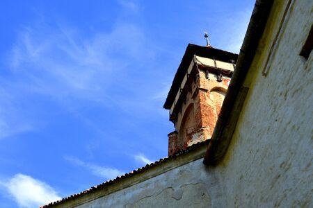 built in: Valea Viilor rural church was built in 16th century. Transylvania.