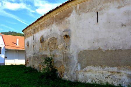 arhitecture: Valea Viilor rural church was built in 16th century. Transylvania.