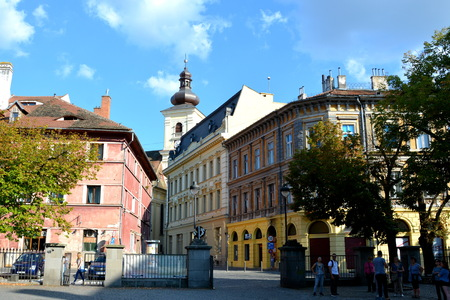 centres: Typical urban landscape in the city Sibiu, Transylvania Sibiu is one of the most important cultural centres of Romania and was designated the European Capital of Culture for the year 2007, along with the city of Luxembourg. Editorial