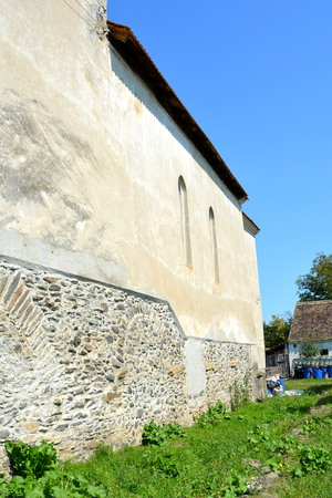 biertan: Medieval fortified church in Avrig, Sibiu county, Transylvania. In Avrig there are a collection of historical monuments.Centuries XI - XVI. Editorial