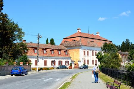 biertan: Palace of Baron von Brukenthal in Avrig, Sibiu county, Transylvania.