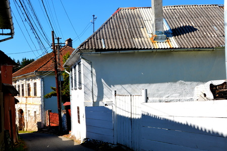 Typical house in Rosia Montana, in Apuseni Mountains, Transylvania. The Apuseni Mountains is a mountain range in Transylvania, Romania, which belongs to the Western Romanian Carpathians, also called Occidentali in Romanian. The Apuseni Mountains have abou