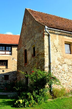 recently: Medieval fortified saxon church in Calnic, Transylvania C?lnic village is known for its castle.