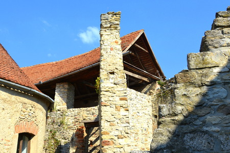 recently: Medieval fortified saxon church in Calnic, Transylvania Câlnic village is known for its castle, which is on UNESCOs list of World Heritage Sites. Câlnic Citadel, first mentioned in 1269, is very well preserved. Built as a nobles residence, it was