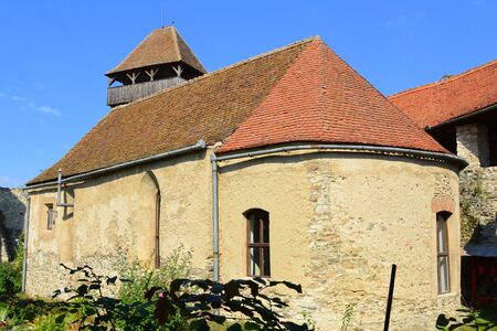 preserved: Medieval fortified saxon church in Calnic, Transylvania Câlnic village is known for its castle, which is on UNESCOs list of World Heritage Sites. Câlnic Citadel, first mentioned in 1269, is very well preserved. Built as a nobles residence, it was boug