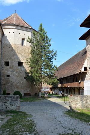 Medieval fortress Fagaras, Transylvania Editorial