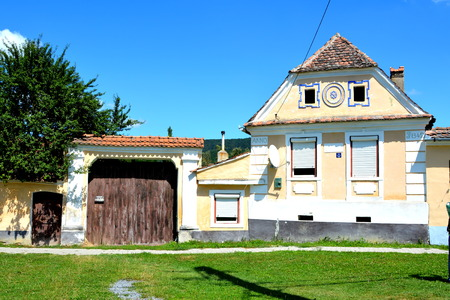 deported: Typical house in the village Crit, Transylvania. Editorial