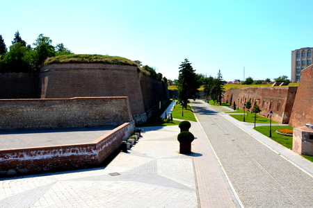 mentioned: Medieval fortress Alba Iulia, Transylvania. The modern city is located near the site of the important Dacian political, economic and social centre of Apulon, which was mentioned by the ancient Greek geographer Ptolemy. Alba Iulia is an important romanian