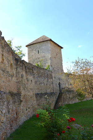 recently: Courtyard of  the medieval fortified saxon church in Calnic, Transylvania Câlnic village is known for its castle, which is on UNESCOs list of World Heritage Sites. Câlnic Citadel, first mentioned in 1269, is very well preserved. Built as a nobles
