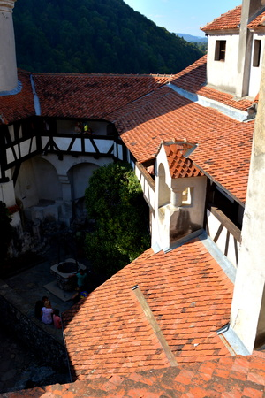 novel: Bran castle, home of Dracula, Brasov, Transylvania The medieval Bran Castle, which was once besieged by Vlad the Impaler, is a popular tourist destination, partly because it resembles the home of Dracula in Bram Stoke s famous novel. Editorial