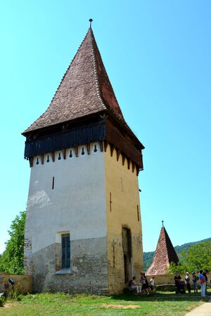 unesco: Tower. Fortified medieval church Biertan, Transylvania. Biertan is one of the most important Saxon villages with fortified churches in Transylvania, having been on the list of UNESCO World Heritage Sites since 1993. The Biertan fortified church was the se