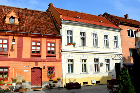 Typical urban landscape of the city Brasov, Transylvania Brasov is a town situated in Transylvania, Romania, in the center of the country. 300.000 inhabitants. Editorial