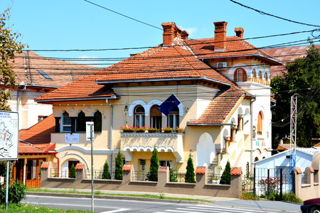 mentioned: Typical house in the city Alba Iulia, Transylvania. The modern city is located near the site of the important Dacian political, economic and social centre of Apulon, which was mentioned by the ancient Greek geographer Ptolemy. Alba Iulia is an important r