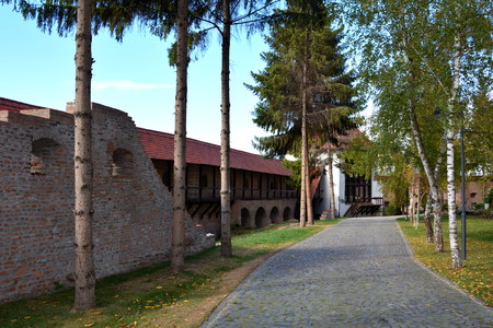 Medieval fortress Targu-Mures. Targu Mures is a nice romanian town in the center of Transylvania. Editorial