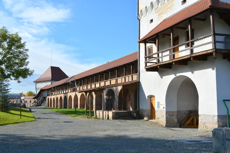 saxon: Medieval fortress Targu-Mures. Targu Mures is a nice romanian town in the center of Transylvania. Editorial