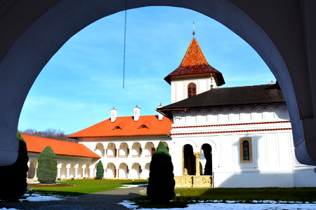 Monastery Sambata is a Romanian Orthodox monastery in Sâmbăta de Sus, Brașov County, in the Transylvania region of Romania. Dedicated to the Dormition of the Mother of God, it is also known as the Brâncoveanu Monastery Mănăstirea Brâncoveanu