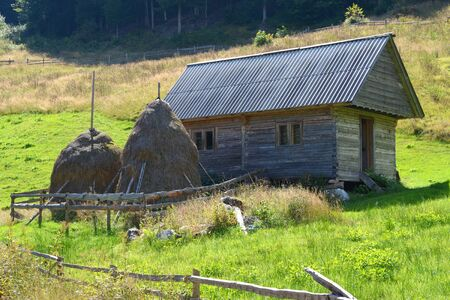 Landscape in Apuseni Mountains, Transylvania The Apuseni Mountains is a mountain range in Transylvania Stock Photo