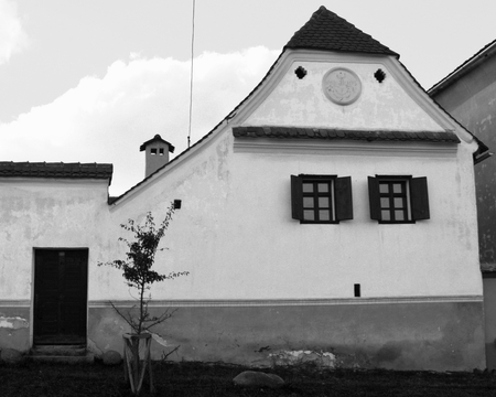 recently: Typical houses in the village Viscri, Transylvania. Viscri is known for his fortified church. The fortified church in this village was built around 1100 AD. It is part of a area if villages with fortified churches in Transylvania, designated in 1993 as a