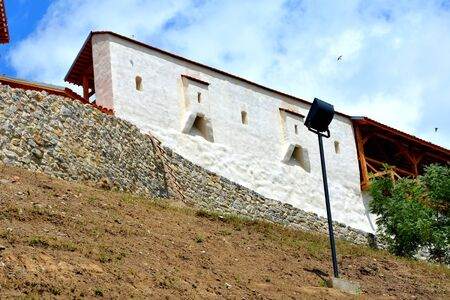 Medieval teutonic fortress in the village Feldioara, Transylvania, in the area of the city Brasov, a town situated in Transylvania, Romania, in the center of the country. 300.000 inhabitants.