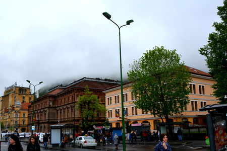 characteristic: Typical urban landscape in the city Brasov, 300.000 inhabitants. Editorial
