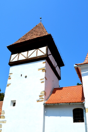 Fortified medieval saxon evangelic church in Veseud, Zied, is a village in the municipality Chirpar from Sibiu County, Transylvania, Romania, first attested in 1379