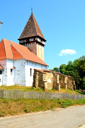 Fortified medieval saxon evangelic church  in Veseud, Zied, is a village in the commune Chirp?r from Sibiu County, Transylvania, Romania, first attested in 1379