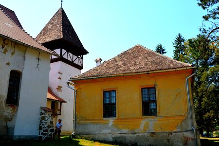 Fortified medieval saxon evangelic church  in Veseud, Zied, is a village in the commune Chirpăr from Sibiu County, Transylvania, Romania, first attested in 1379 Editorial