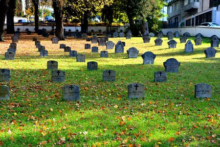 Cemetery of the herous in Brasov, transylvania