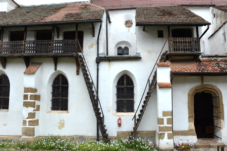 Fortified medieval church Harman,Honigberg is one of the most important Saxon villages with fortified churches in Transylvania, having been on the list of UNESCO World Heritage Sites since 1993