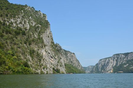 Iron Gates is a gorge on the Danube River, forming part of the boundary between Serbia and Romania