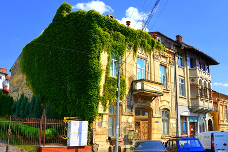 Typical urban landscape in the village Craiova, Romania's 6th largest city and capital of Dolj County, situated near the east bank of the river Jiu in central Oltenia