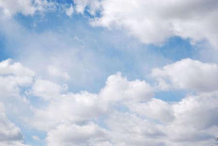 Clouds on windy day Reklamní fotografie