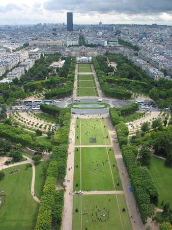 Paris at a height photo