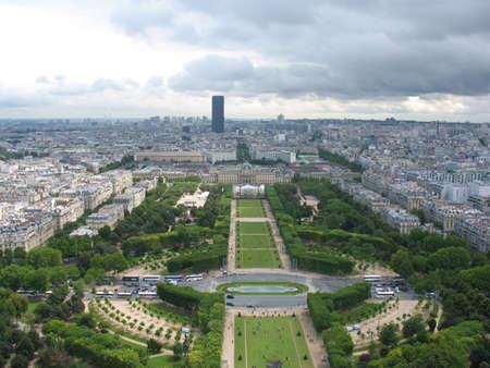 Cloudy Paris Stock Photo - 4877247