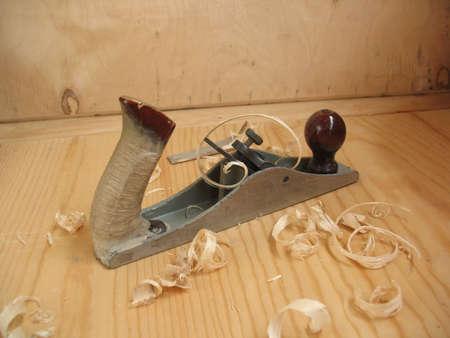 wood shavings: Plane