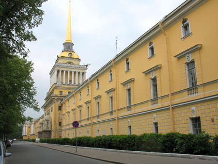 saint petersburg: City street and building   Saint Petersburg