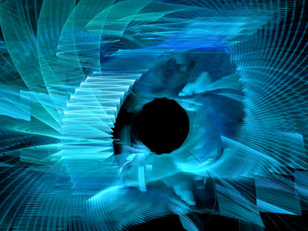 Computer generated background of abstract fractal shapes Reklamní fotografie
