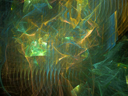Computer generated background of abstract fractal shapes Stock fotó