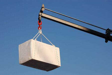 hoist: massive crane lift big burden