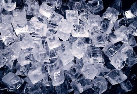 ice cubes: background of Ice cubes